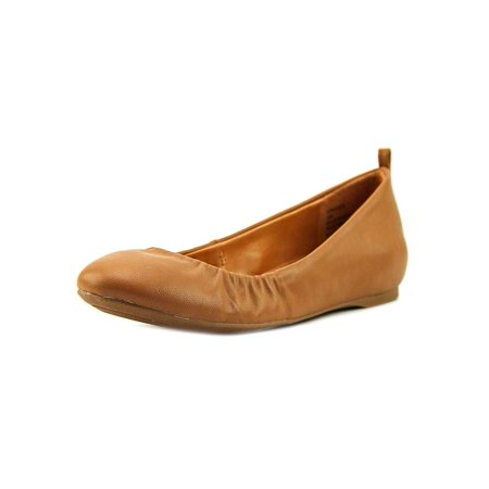 Style & Co. Womens Vinniee Leather Closed Toe Ballet (Style & Co Flat Front)