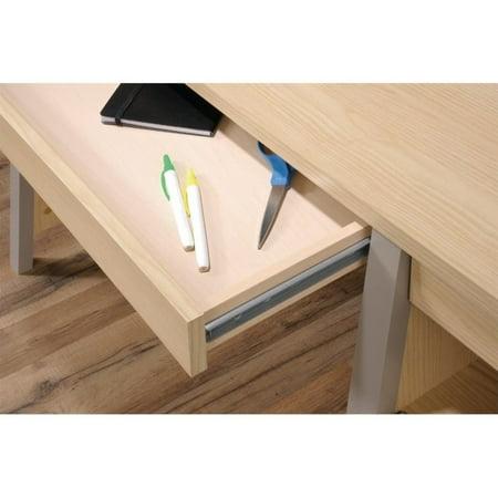 Sauder Affinity Home Office Desk in Urban Ash - image 8 de 9