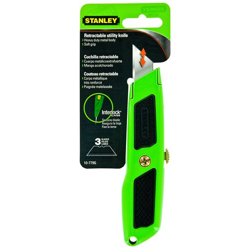 Stanley 10-779G DynaGrip Retractable Utility Knife