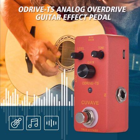 CUVAVE ODRIVE-TS Analog Overdrive Guitar Effect Pedal Zinc Alloy Shell True Bypass - image 2 de 6