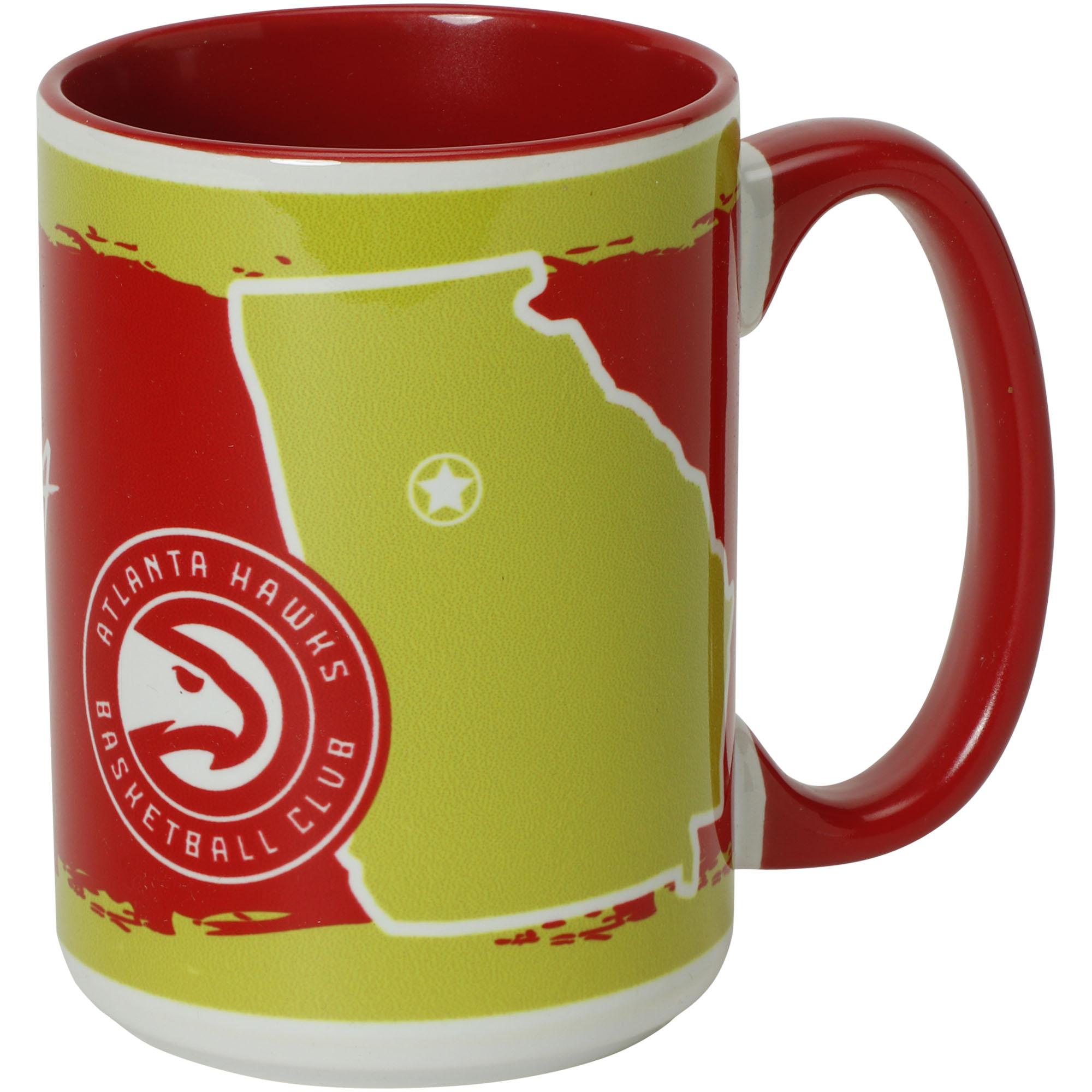 Atlanta Hawks 15oz. It's Your State Of Mind Mug - No Size