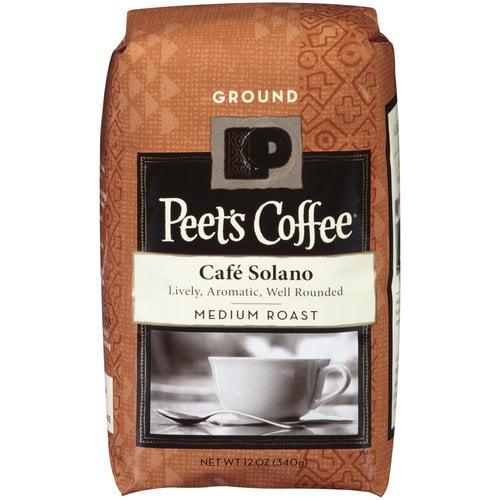 Peet's Coffee Cafe Solano Medium Roast Ground Coffee, 12 oz