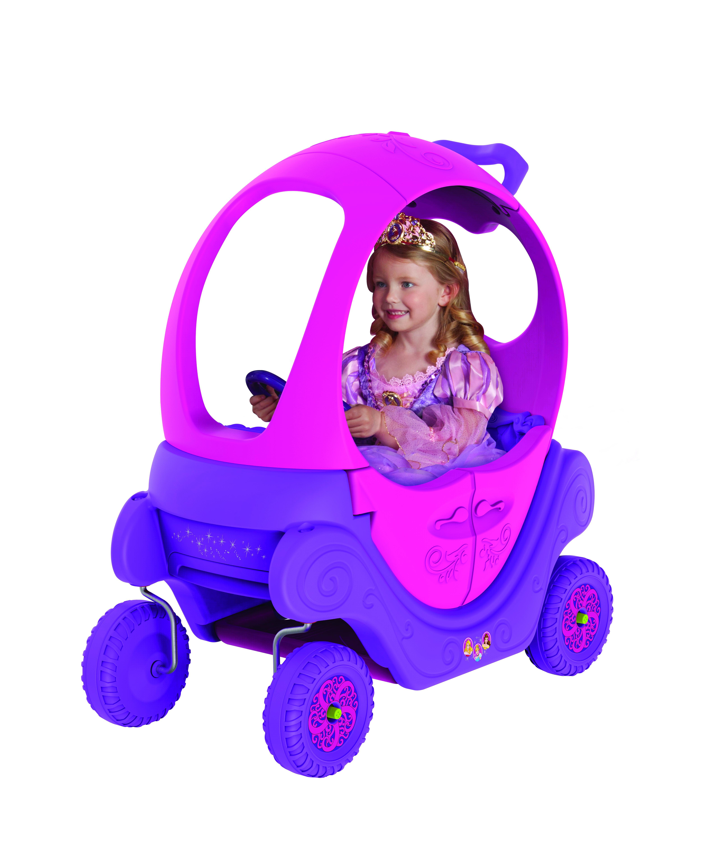 Disney Princess Preschool Carriage Non-Electric Ride-On by Dynacraft