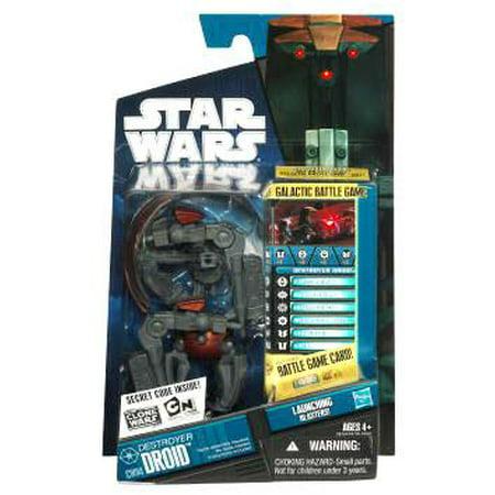 Star Wars Clone Wars 2010 Destroyer Droid Action (Venator Star Destroyer)