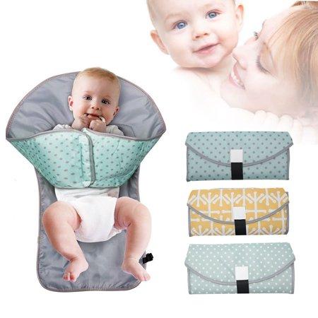 3 In 1 Waterproof Diaper Pad Waterproof Baby Diaper Changing Mat Portable Clean Hands Changing Pad Diaper Changing Mats