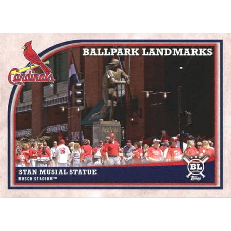 2018 Topps Big League #362 Stan Musial Statue St. Louis Cardinals Baseball Card - *GOTBASEBALLCARDS