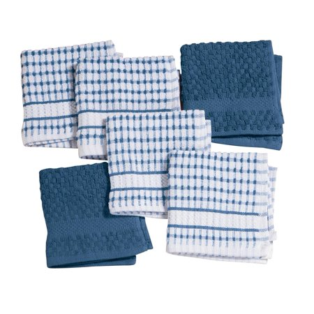 Terry Dish Cloths, Set of 6