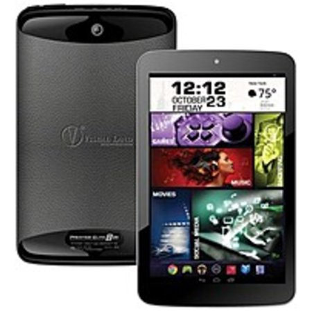 Visual Land Prestige Elite 8QS ME-8QS-16GB-BLK 8-inch IPS Tablet (Refurbished)