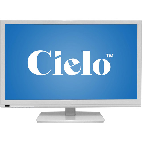 "Cielo TE24T7H 24"" Class LED-LCD 720p 60Hz HDTV (2.6"" ultra-slim) (Assorted Colors)"