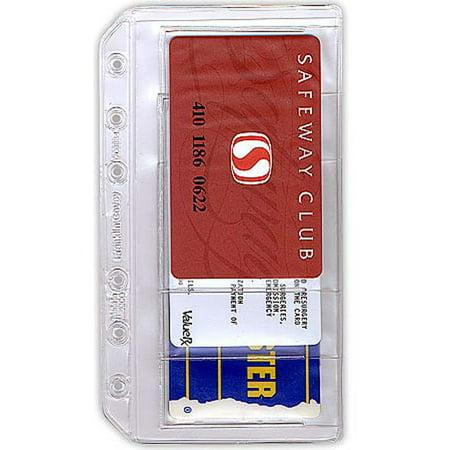 Pocket business credit card holder two pack walmartcom for Franklin covey business card holder