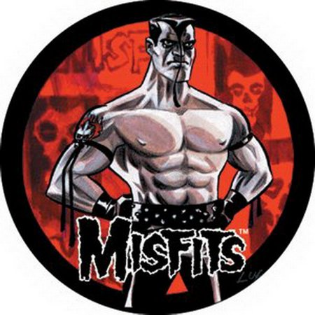 Many Buttons (Misfits Muscle Man Button B-0275)
