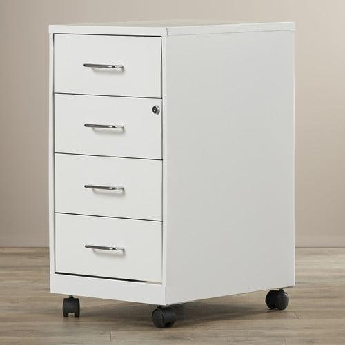 Rebrilliant Bottorff 4 Drawer Steel Mobile File Cabinet