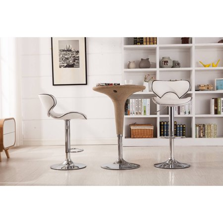 Astonishing Upc 612524931571 Roundhill Furniture 34 Swivel Bar Stool Theyellowbook Wood Chair Design Ideas Theyellowbookinfo