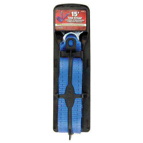 "Erickson 2"" X 15' Tow Strap Blue 8500#"