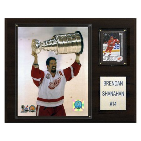 C And I Collectables 1215Shanahan Nhl Brendan Shanahan Detroit Red Wings Player Plaque