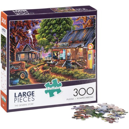 Buffalo™ Large Pieces™ The General Store™ Puzzle 300 pc Box](Online Puzzles For Adults)