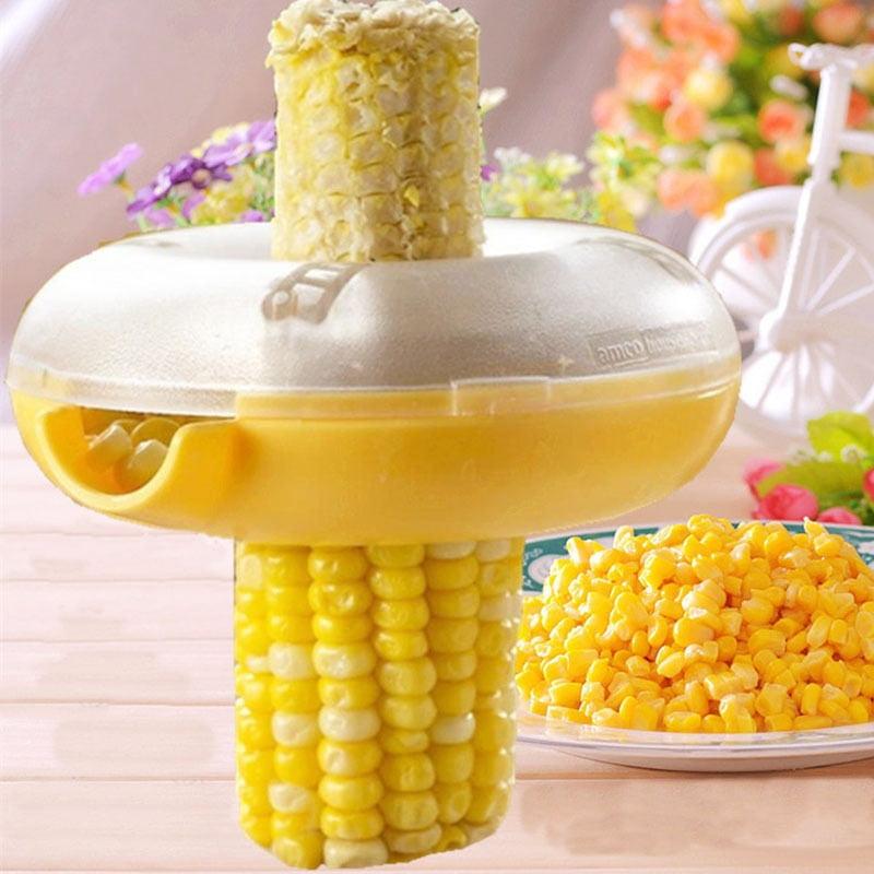 One Corn Cob Stripper Peeler Cutter Stripping Corn Remover Kitchen Gadget Tool