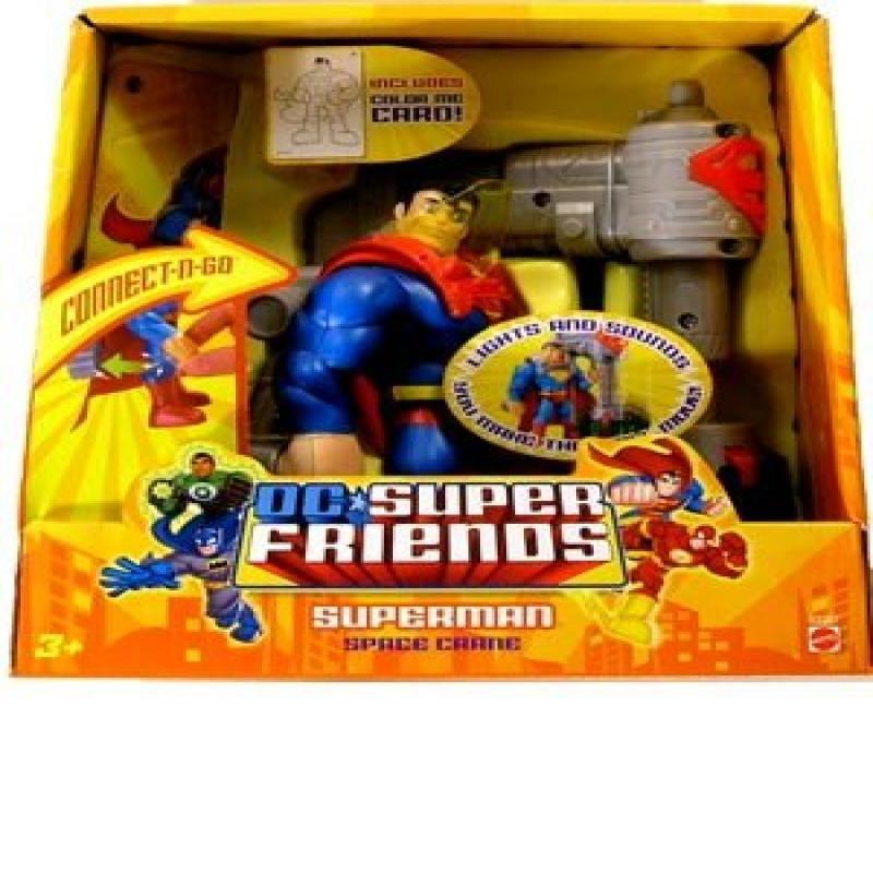 DC Superman DC Super Friends Superman Action Figure [Space Crane]