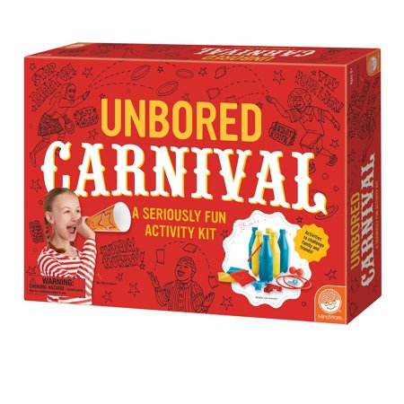 Adult Carnival Games (UNBORED Carnival, TOYS THAT TEACH: Step right up and get started planning an event full of fun and friendly competition with the Unbored.., By)