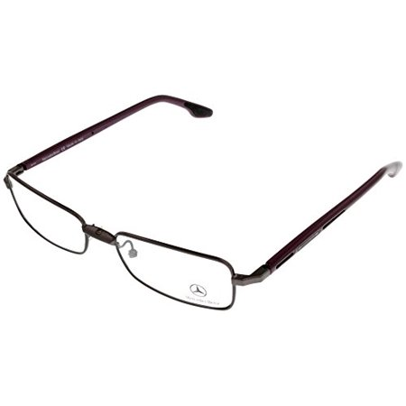 Mercedes Benz Prescription Eyeglasses Frames Women Purple MB1802 Rectangular Size: Lens/ Bridge/ Temple: (Prescription Eyeglasses For Women)