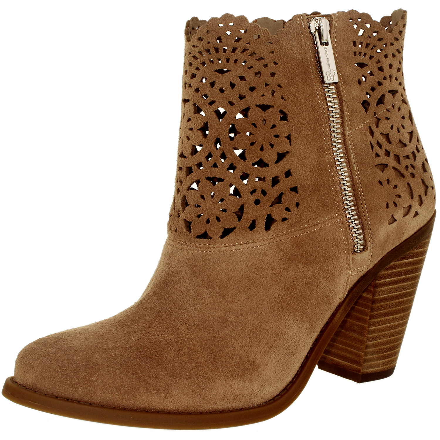 Jessica Simpson Women's Cachelle Suede Warm Taupe Ankle-High Leather Boot - 9.5M - image 3 of 3