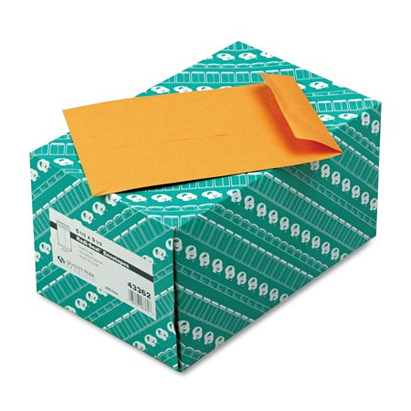 - Quality Park Redi Seal Catalog Envelope, 6 1/2 x 9 1/2, Brown Kraft, 250/Box -QUA43362