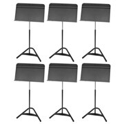 Manhasset Harmony Stand Model #81C Concertino w/ Floor Stacking Base, Six-Pack
