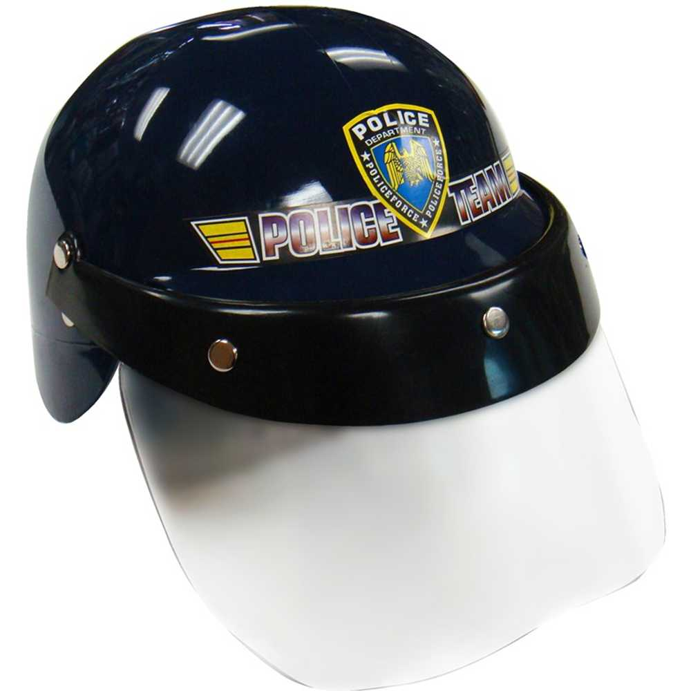Kids Police Helmet with Transparent Visor