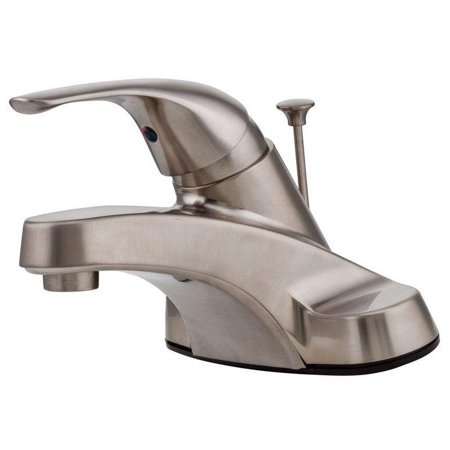 Pfister Pfirst Series Centerset (Pfister Pfirst Centerset Bathroom Sink Faucet with Lever Handle and Metal Pop-Up, Available in Various Colors )