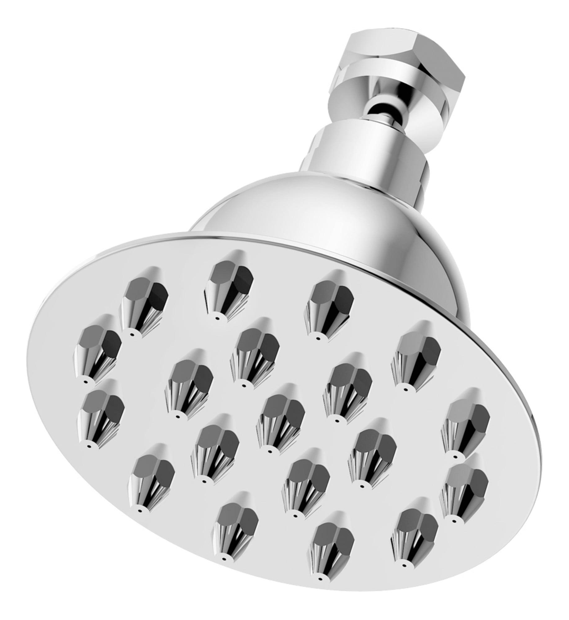 "Canterbury 1-Spray 4"" Fixed Showerhead in Polished Chrome (2.2 GPM)"