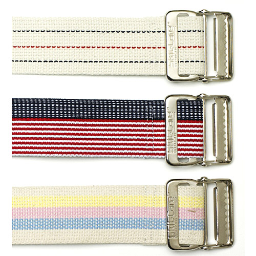 "Gait Belt Standard White 60""L 2""W  1/EA"
