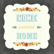 "Art Play Cardstock Prints 12""X12""-Home Sweet Home"