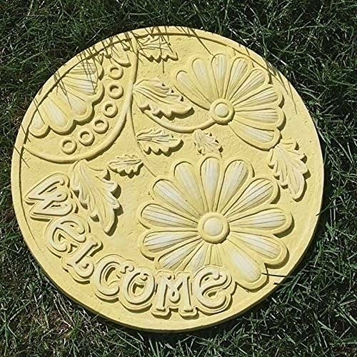 Outdoor Garden Stepping Stones (Welcome) by Roman, Inc