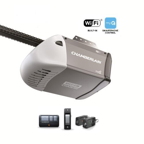 Chamberlain 1 2 Hp Chain Drive Garage Door Opener Good Walmart Com Walmart Com