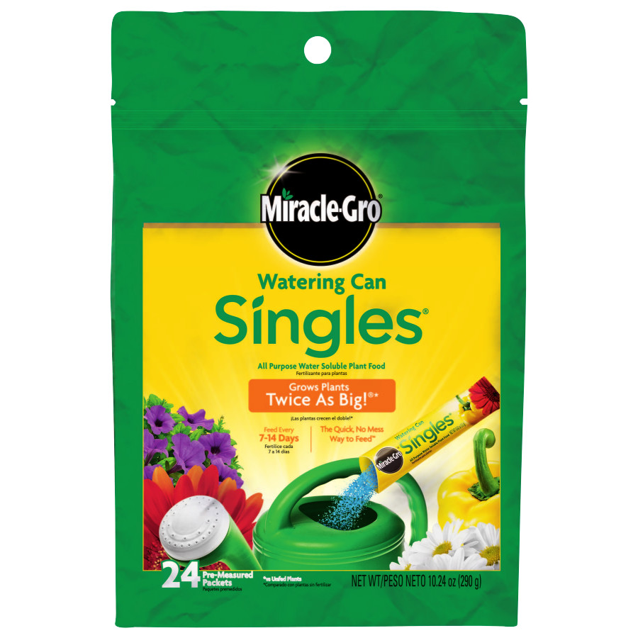 Miracle-Gro Watering Can Singles All Purpose Water Soluble Plant Food