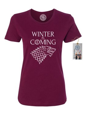 45368011871 Product Image Games of Throne Winter is Coming Shirt Womens Short Sleeve T- Shirt