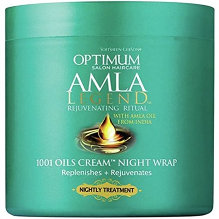 Softsheen Carson Optimum Amla Legend 1001 Oils Cream Night Wrap, 4