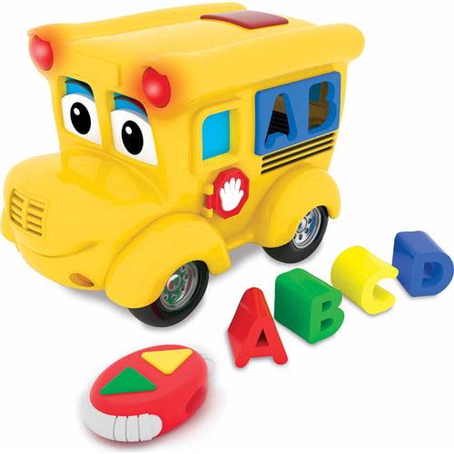 The Learning Journey Remote Control Shape Sorter, Letterland School Bus