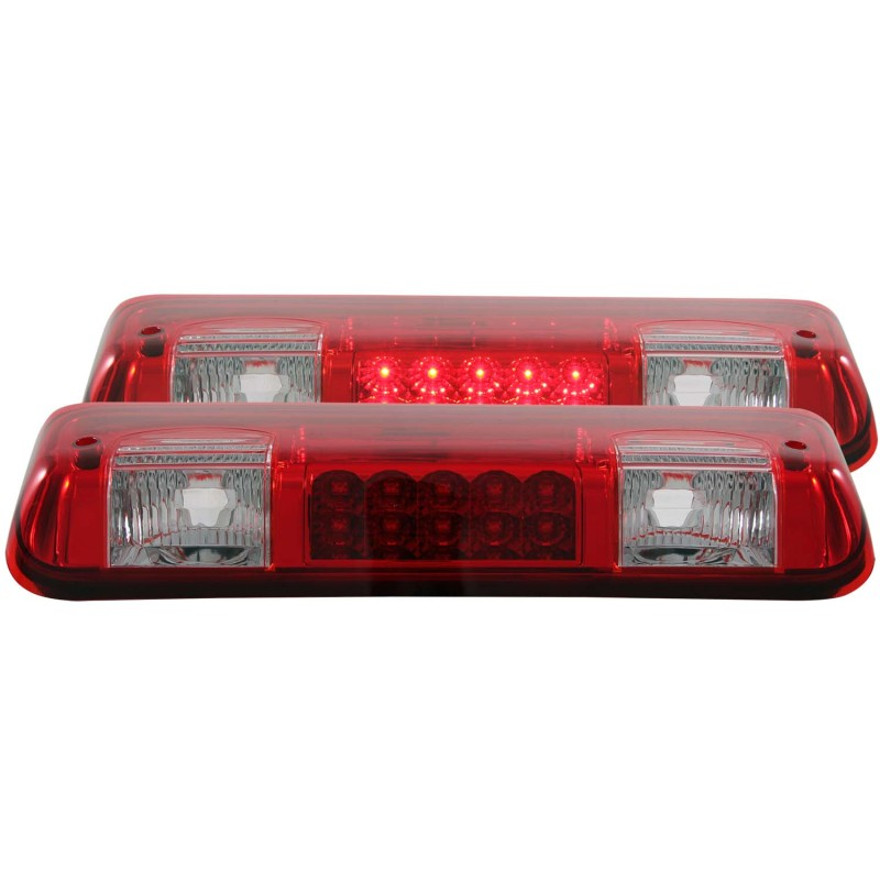 ANZO 2004-2008 Ford F-150 LED 3rd Brake Light Red/Clear