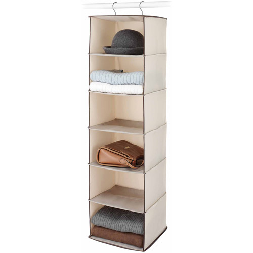 Whitmor Manufacturing 6004-3943 Tweed Hanging Accessory Shelf