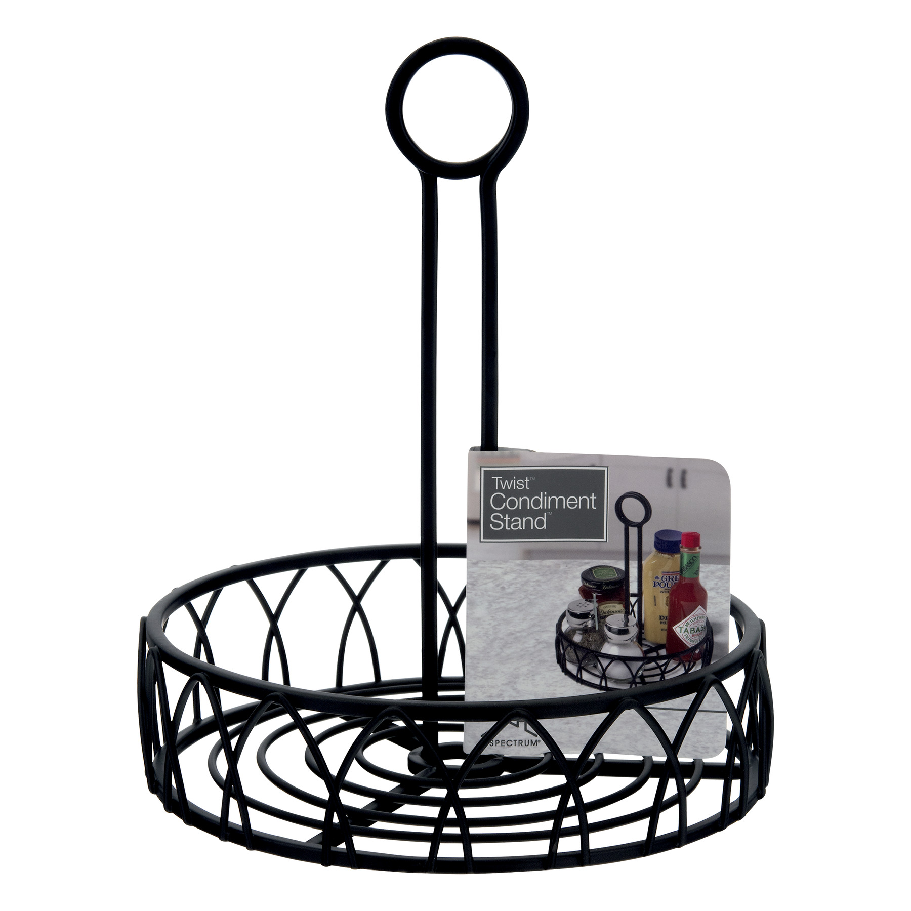 Spectrum Twist Condiment Stand, 1.0 CT