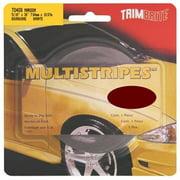 TRIMBRITE T0408 Pinstripe Tape, Maroon, 0. 31 inch X 36 Ft.