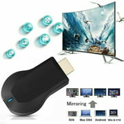 WiFi Display Dongle, Wireless HDMI Display Adapter Receiver, Screen Mirroring Miracast Dongle from Android/iOS Phone/iPad/Mac/Laptop to TV Monitor Projector