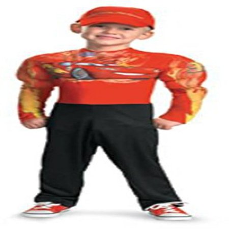 Lightning Mcqueen Classic Muscle Costume - Small (4-6)](Lighting Mcqueen Halloween Costume)