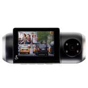 Cobra SC 201 Dual-View Smart Dash Cam with Built-In Cabin View