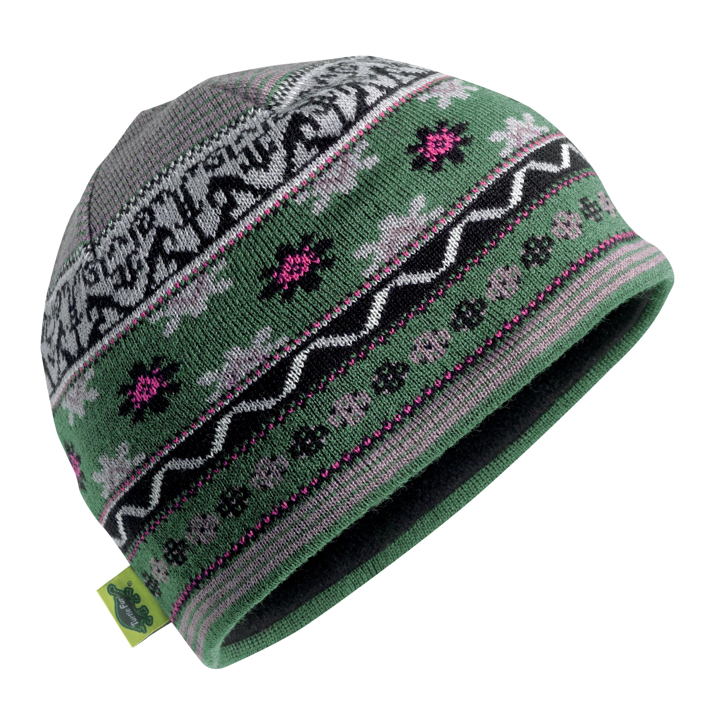 Turtle Fur Saami Merino Wool Knit Beanie, Women's Fleece Lined Winter Hat by Turtle Fur