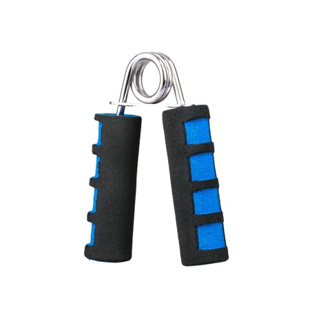 2-PACK Foam Hand Wrist Power Grip Strength Training Grips Fitness Gym Exerciser