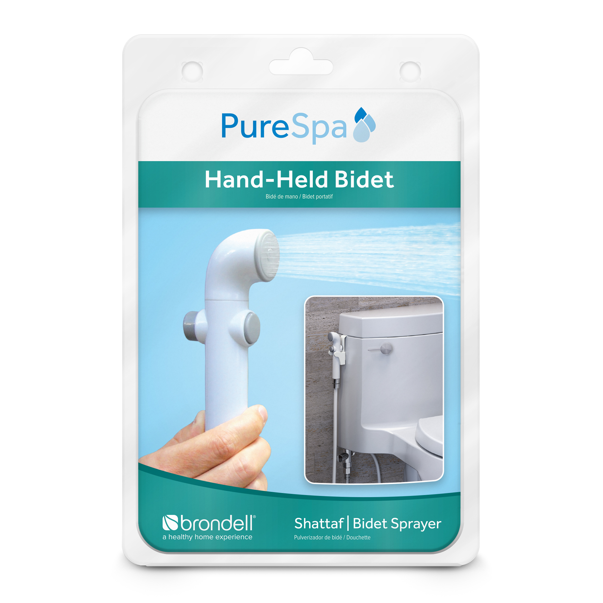 PureSpa Hand Held Bidet Sprayer