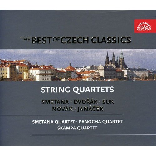 Best Of Czech Classics: String Quartets (Box)