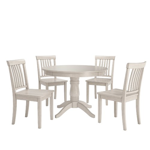 August Grove Alverson 5 Piece Dining Set